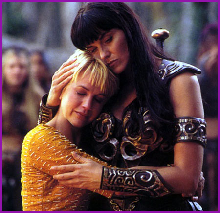 fiction xena gabrielle fan Erotic